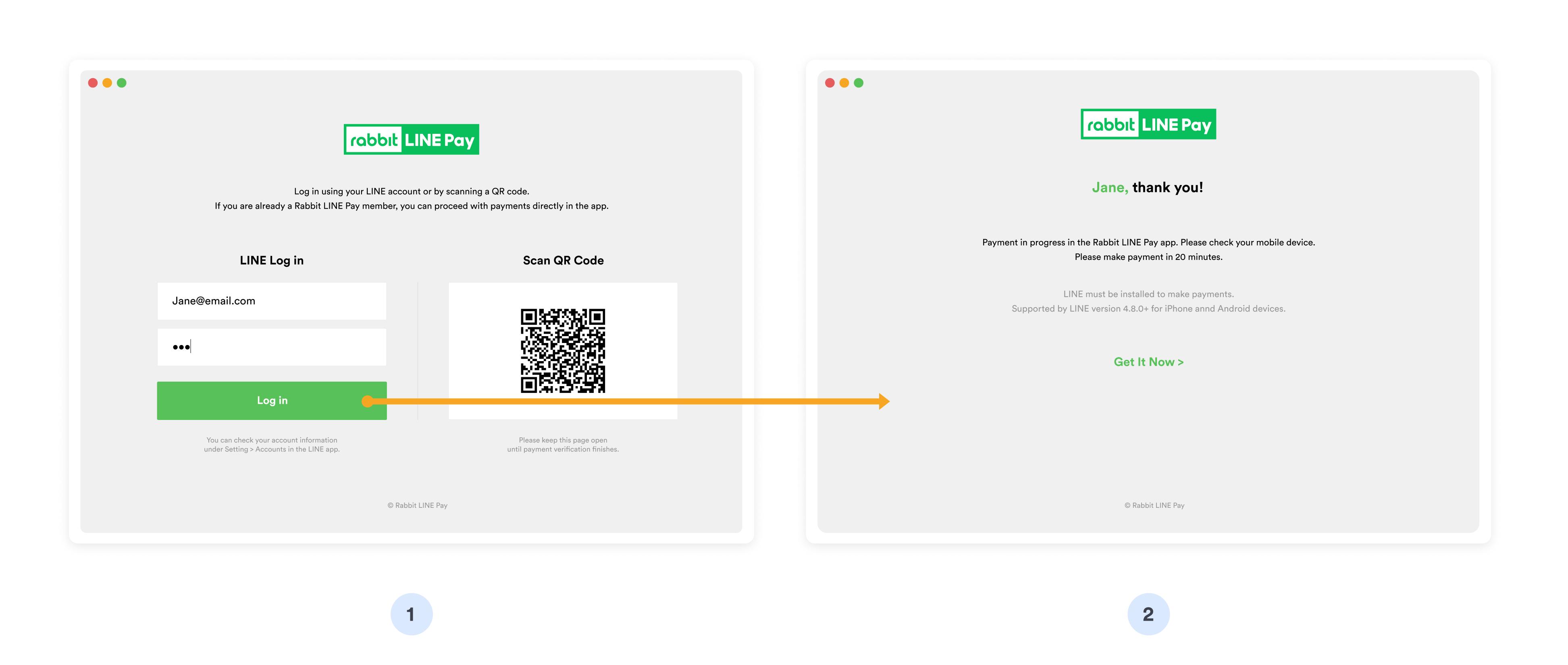 Rabbit LINE Pay - login1