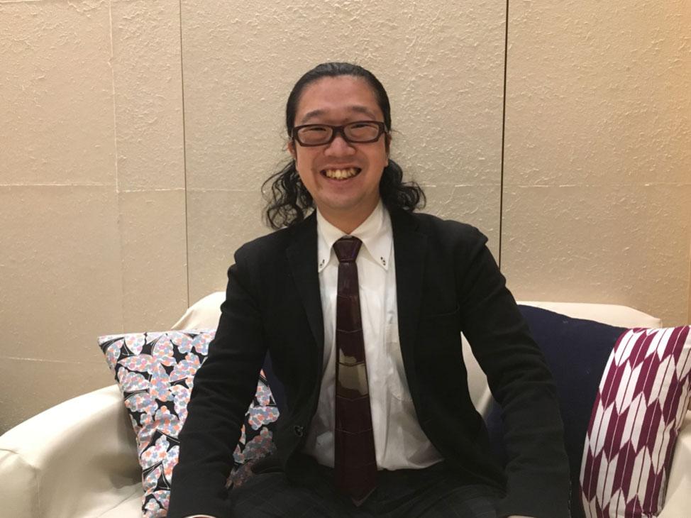 インタビュー後の代表取締役石川さん