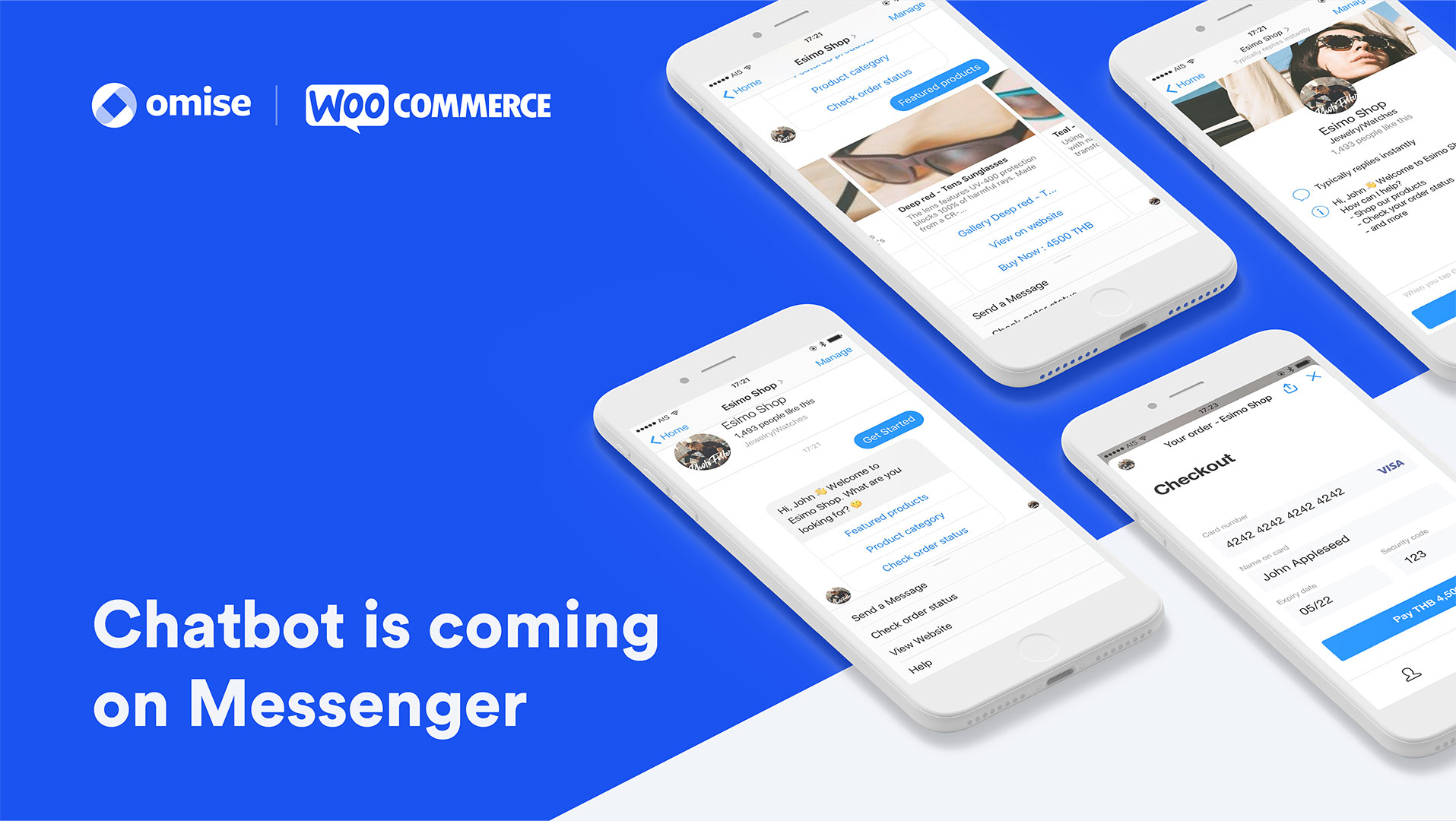 Chatbot x Omise WooCommerce Plugin