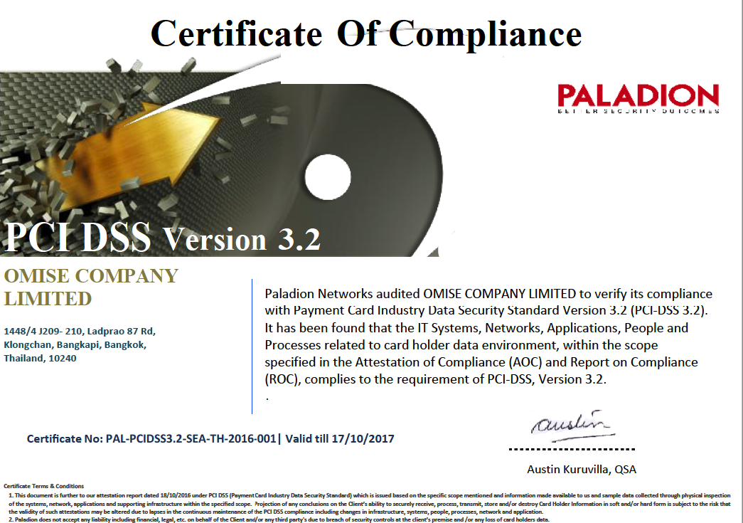 PCI DSS Version 3.2