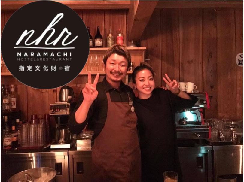 Yoshida and a customer