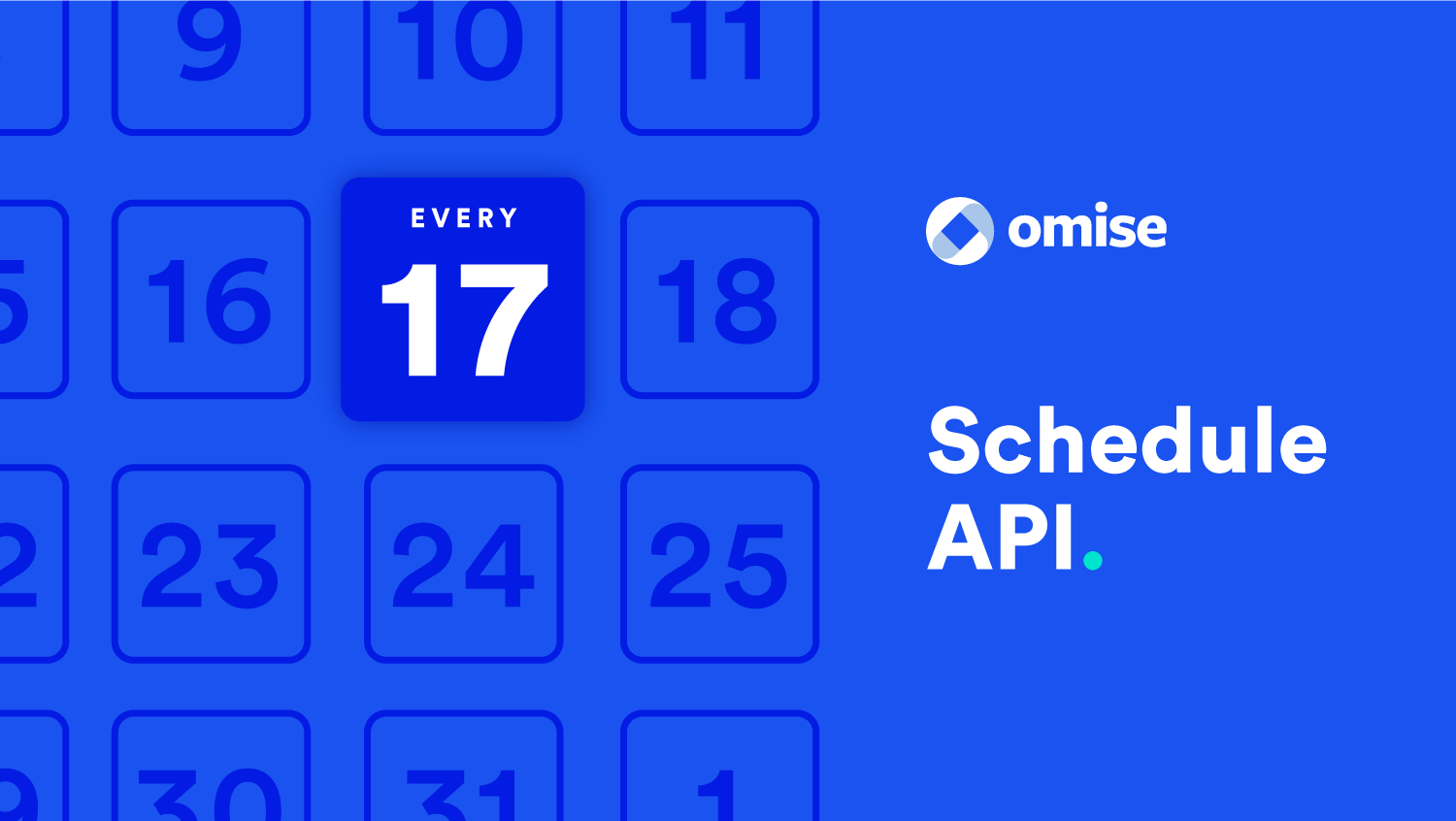 Schedule api cover