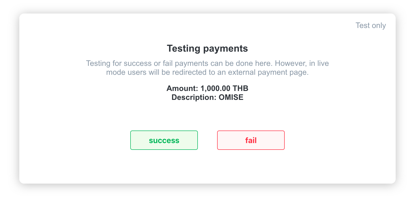 TrueMoney Authorize URI Test